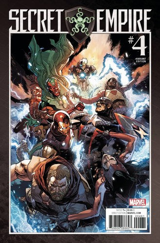 Secret Empire (2017) #4 (1:25 Leinil Yu Variant)