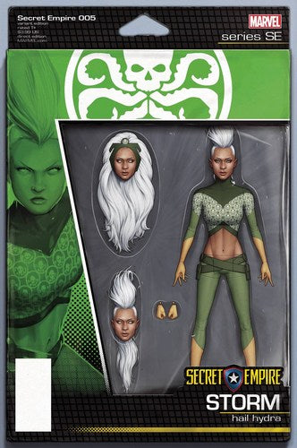 Secret Empire (2017) #5 (Christopher Action Figure Variant)