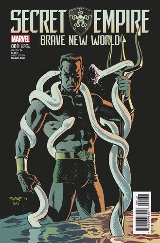 Secret Empire Brave New World (2017) #1 (1:25 Samnee Var Se)