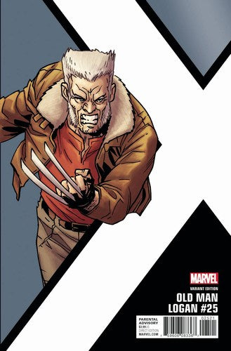 Old Man Logan (2016) #25 (1:10 Kirk Corner Box Variant)