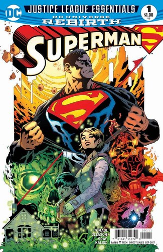 DC Justice League Essentials (2017) Superman #1 Rebirth