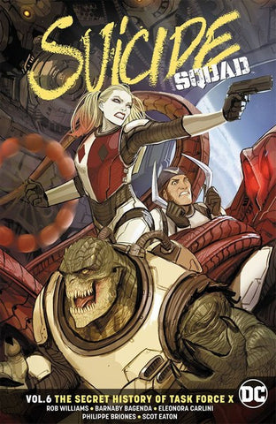 Suicide Squad TP Volume 6 (Secret History Of Task Force X)