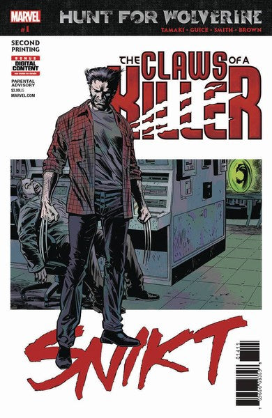 Hunt For Wolverine Claws of Killer (2018) #1 (2nd Print Guice Variant)