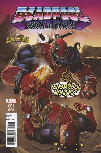 Deadpool Back in Black (2016) #1 (1:10 Contest Of Champions Game Variant)