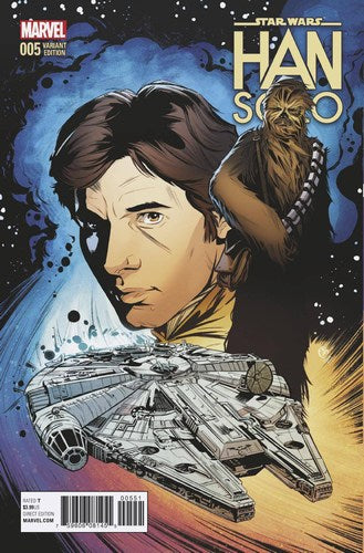 Star Wars Han Solo (2016) #5 (1:25 Joelle Jones Variant)