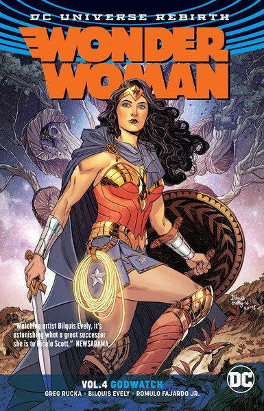 Wonder Woman TP Volume 4 (Godwatch (Rebirth))