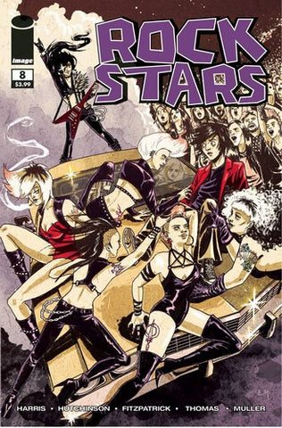 Rockstars (2016) #8 (Cover B Walking Dead #59 Tribute Variant)