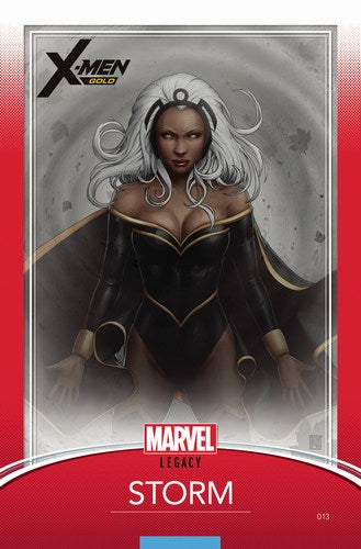 X-Men Gold (2017) #13 (Christopher Trading Card Var Legacy)