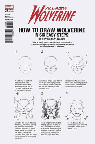 All New Wolverine (2015) #25 (Zdarsky How To Draw Var Legacy)
