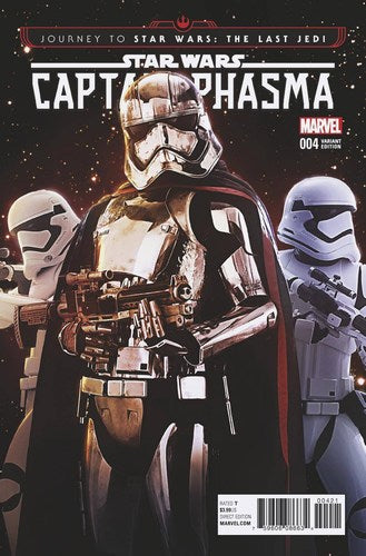 Journey to Star Wars The Last Jedi Captain Phasma (2017) #4 (1:15 Movie Variant)