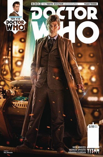 Doctor Who 10th Year Three (2016) #10 (Cover B Photo)