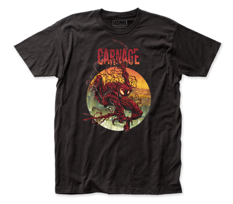CARNAGE: CLIMBING OUT FITTED JERSEY T-SHIRT