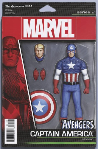 Avengers (2016) #4.1 (Christopher Action Figure Variant)