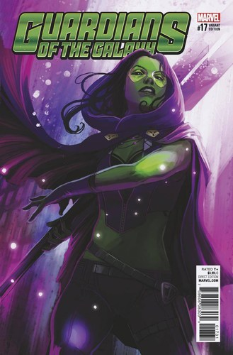 Guardians of the Galaxy (2015) #17 (1:25 Hans Variant)