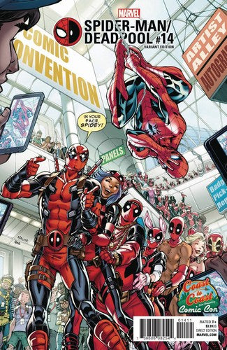 Spider-Man Deadpool (2016) #14 (C2C Exclusive)