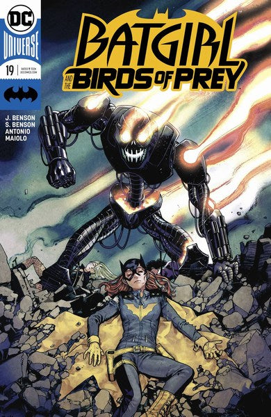 Batgirl and the Birds of Prey (2016) #19 (Variant)