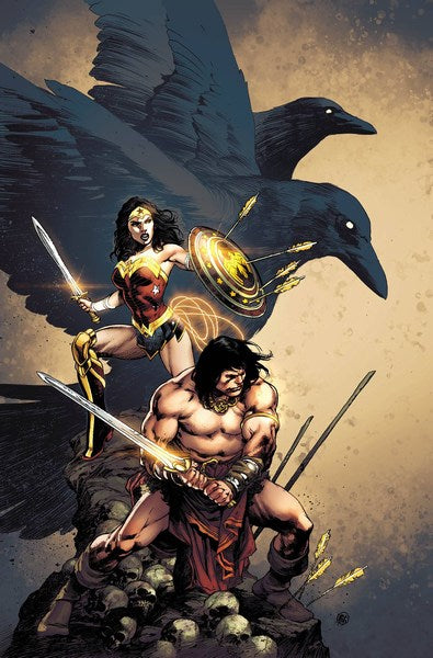 Wonder Woman Conan (2017) #6 (Reis Var Ed)