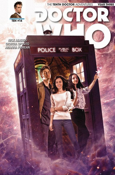 Doctor Who 10th Year Three (2016) #14 (Cover B Photo)