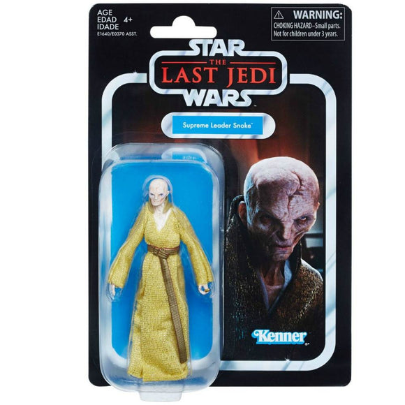 Star Wars Vintage 3.75-Inch Supreme Leader Snoke Action Figure