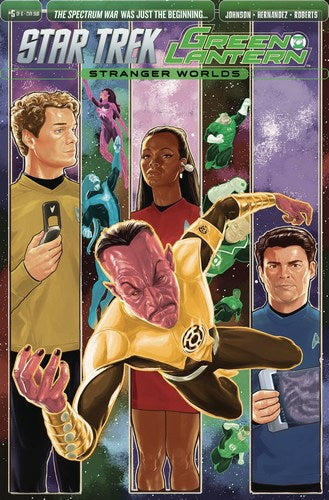 Star Trek Green Lantern Volume 2 (2016) #5 (Subscription Variant)