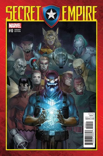 Secret Empire (2017) #0 (1:50 Reis A Variant)