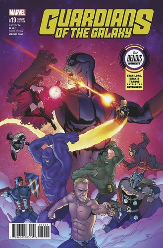 Guardians of the Galaxy (2015) #19 (Best Bendis Moments Variant)
