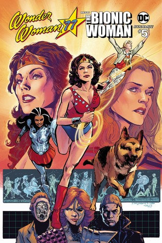 Wonder Woman Bionic Woman 77 (2016) #5 (Cover B Jimenez)