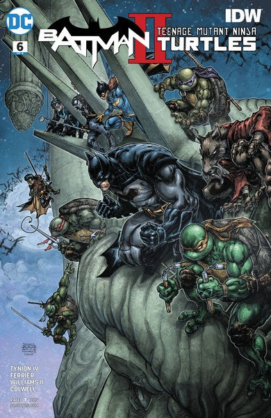 Batman Teenage Mutant Ninja Turtles II (2017) #6