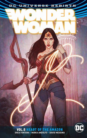 Wonder Woman TP Volume 5 (Heart Of The Amazon Tp Rebirth)