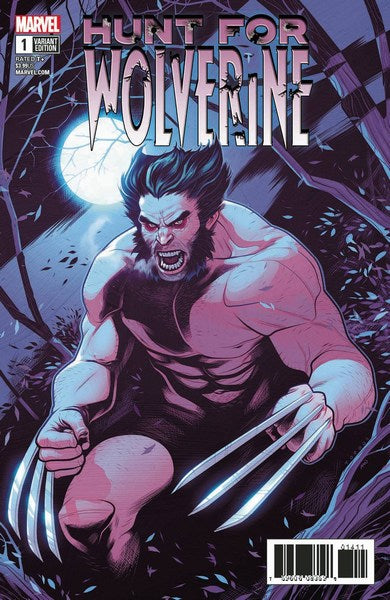 Hunt for Wolverine (2018) #1 (1:25 Torque Var)