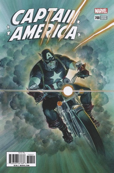 Captain America (2017) #700 (1:50 Alex Ross Var Leg)