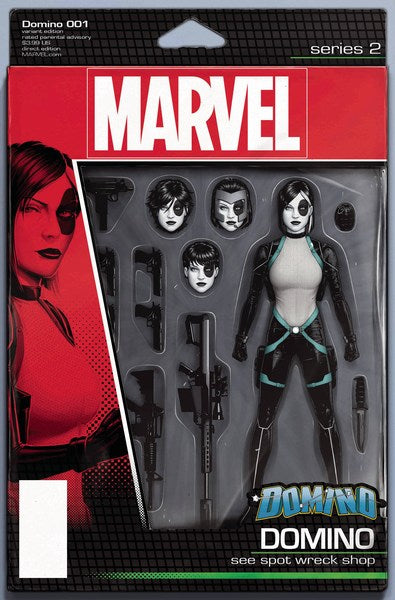 Domino (2018) #1 (Christopher Action Figure Var)