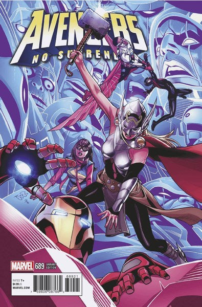 Avengers (2017) #689 (Sprouse End Of An Era Var Leg)