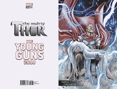 Mighty Thor (2017) #706 (Checchetto Young Guns Var Leg)