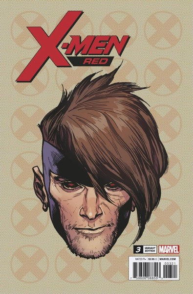 X-Men Red (2018) #3 (1:10 Charest Headshot Var Leg)