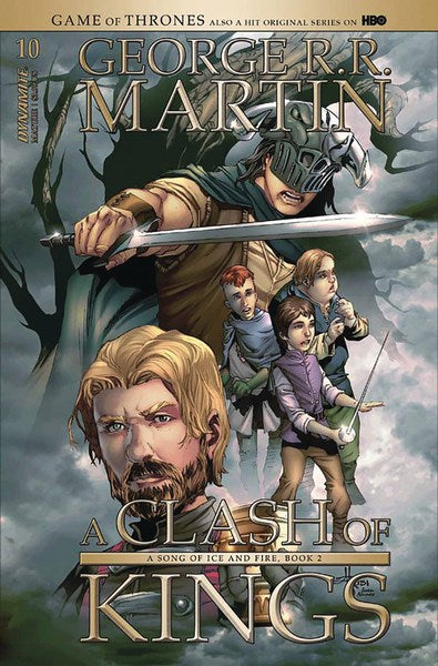 Game of Thrones Clash of Kings (2017) #10 (Cover B Rubi)