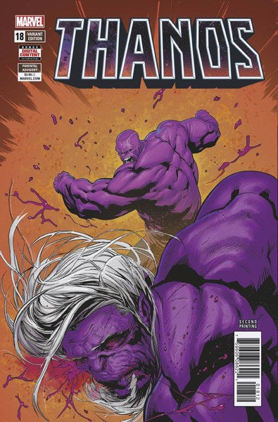 Thanos (2016) #18 (2nd Print Shaw Variant)