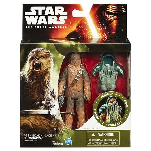 Star Wars Armor Series VII Chewbacca 3.75