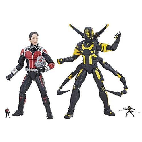 Marvel Legends Cinematic Universe 10th Anniversary Ant-Man and Yellowjacket 6-Inch Action Figures