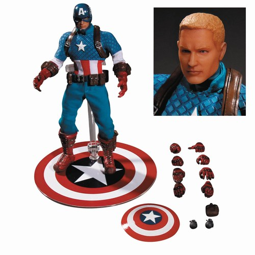 One-12 Collective Marvel Captain America Action Figure