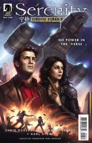 Serenity No Power in the Verse (2016) #6 (Main Dos Santos Cover)