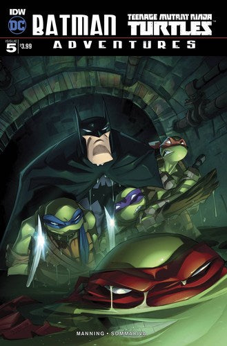 Batman Teenage Mutant Ninja Turtles Adventures (2016) #5 (1:10 Variant)