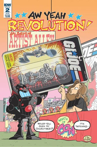 Revolution Aw Yeah (2017) #2 (Subscription Variant)