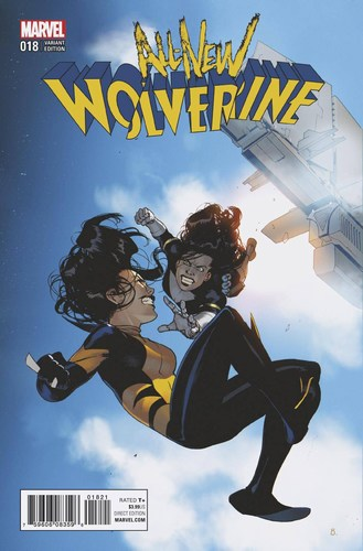 All New Wolverine (2015) #18 (Bengal Connecting F Variant)