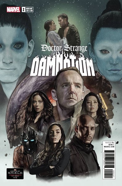 Doctor Strange Damnation (2018) #2 (1:10 Agents Of Shield Road To 100 Var Leg)