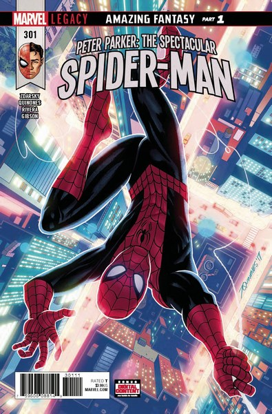 Peter Parker The Spectacular Spider-Man (2017) #301
