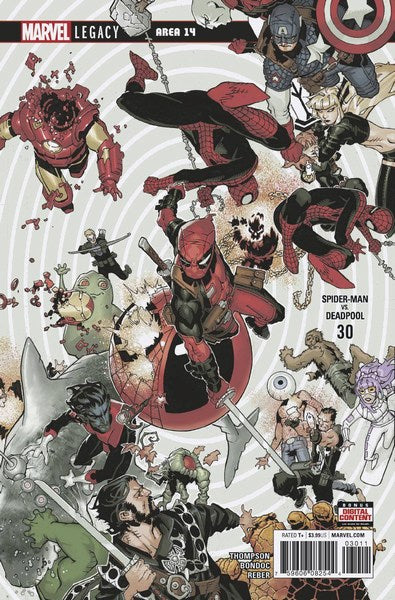 Spider-Man Deadpool (2016) #30
