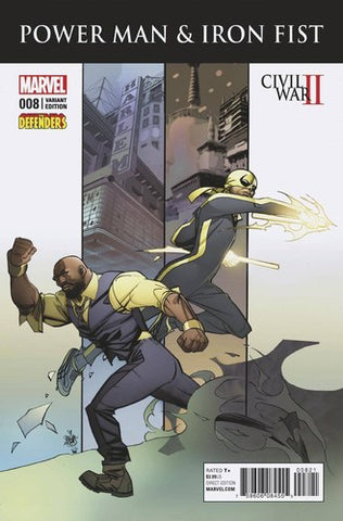 Power Man and Iron Fist (2016) #8 (Defenders Variant)