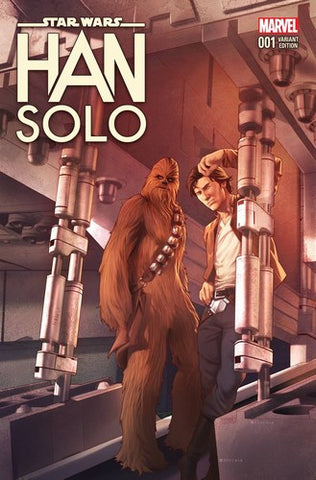 Star Wars Han Solo (2016) #4 (1:25 Jamal Campbell Variant)