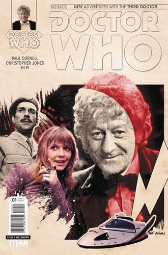 Doctor Who 3rd (2016) #2 (Cover B Photo)